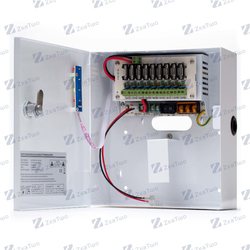 CCTV Power Supply Box Power Distribution Supply CCTV 12V Switching Power Supply With CE FCC ROHS