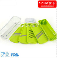 Multi-Function Plastic Chopper and Dicer for Vegetable and Fruit