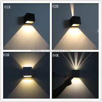 2015 modern style 6w outdoor indoor up down led wall lights/wall lamps