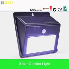 LED solar garden light Pole Excellent Bridgelux led solar lights for garden solar led park/yard/garden lights