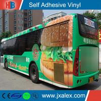 YV2208 Glossy PVC Car Vinyl Advertising,Solvent Car Vinyl Advertising Rolls Wholesale,Cheap Car Vinyl Advertising For Sale
