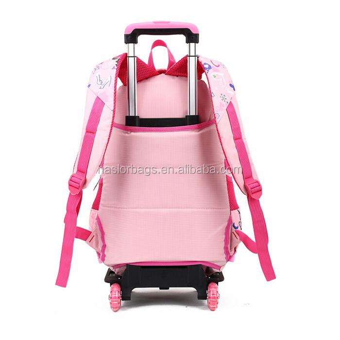 Nouvelle école d'arrivée sac à dos sur roues