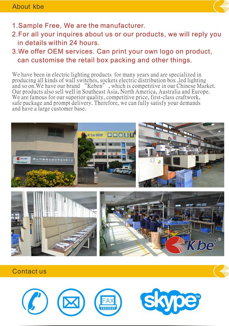 Kbe Mcb Electrical Distribution Box For Circuit Breaker Buy China