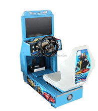 Arcade amusement machine video game console simulator driving car racing game machine FF4/alloy wheels crazy racing car