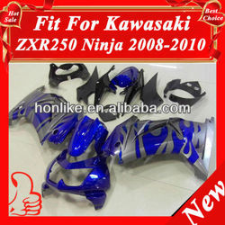 ABS Fairings Kit for KAWASAKI Ninja 250R EX 250 2008 2009 2010 2011 EX250 ZX250R 08 09 10 11 ABS Plastic Injection Mould