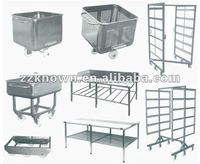 stainless steel Meat Trolley/ Skip Car for meat processing trolley