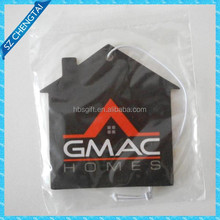 Customized design house shape cotton paper air freshener