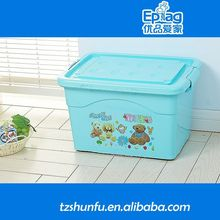 2015 insulated plastic food container,2-layer plastic container,rectangle handle plastic container