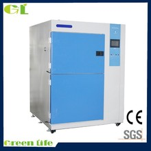 Horizontal Orientation three zones air Thermal Shocking Tester/thermal shock resistance test machine