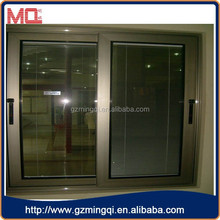 MODERN brand bronze anodized finished aluminum alloy sliding window