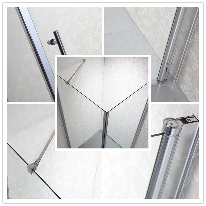 shower door 3 door handle for your convenient opening of the shower