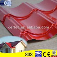 Modular Villa Wavy Tile Steel Roof Material
