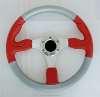 Automotive Interior modified colorful PVC and Leatherette steering wheel for vintage car