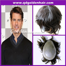 Hot Sale Top Quality Indian Human Hair Pu Injection Toupee