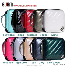 BUBM 32 Capacity PU Leather Cover CD Case CD Box DVD Case CD-ROM Holder Car Disc Case