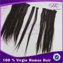 Hot sale brazilian 8-32 body wave clip-in hair extension
