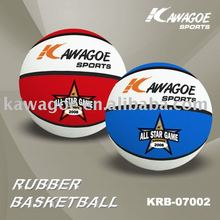 rubber made small basketball