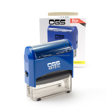 CGS 4915 Self inking stamp/online stamp maker/Design your own custom logo name address refillable