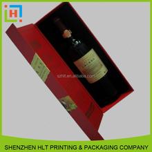 China Factory Handmade Custom Luxurious Wine Paper Packaging Box