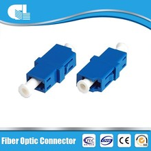 CE/ISO approved sc simplex fiber adapter