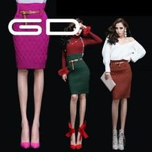 Top quality red color fashion big bow design high heel women dress shoe