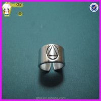 2015 Trending Hot Products 925 Sterling Silver Men Thumb ring and aa ring