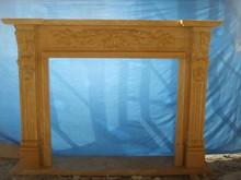 wall mounted electric fireplace mantel