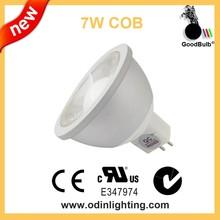equal to 70w halogen led mr16 7W led spotlight 80degree 90cri