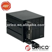 "5bay cd-rom 5.25 size 3.5"" SATA3 HDD hard disk mobile rack internal hdd enclosure"