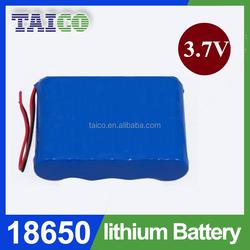 Fast Shipping 18650 3.7v 9000mah Li ion Battery Pack for Solar Speaker