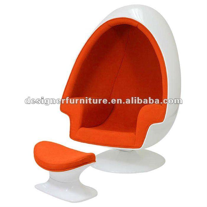 Alfa altavoz c scara de huevo silla con otomana for Silla huevo precio