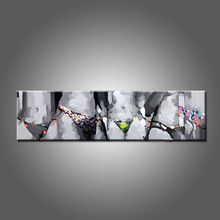 Handmade Abstract Modern Living Room Decoration Long Size Bikini Oil Painting On Canvas Hot Lady Body Sexy Oil Painting