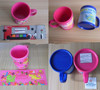 Personalize 3D animal design pvc mugs, festival kids gifts cute plastic mugs cup