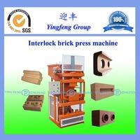 Eco Premium 2700 thailand soil interlocking brick machine special hot sale YF1-10