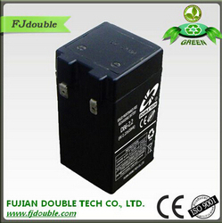 sealed maintenance free agm battery 6v dry rechargeable battery for solar system