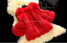 Italian Luxury China Superior Short Fox Fur Coats