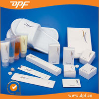 Eco-friendly White Paper Carton Disposable Hotel Amenity Sets