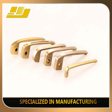 construction material brass extrusion golden section pen with clip metal pen clips
