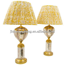 Gold table lamp magnifying glass MTX0085
