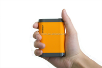 2 output ports 7800MAH li-ion battery power bank,vary colors and high conversion rate, the power indictor light power bank