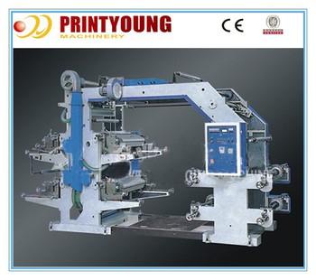 PRY4600 Four-color Flexographic Printing Machine