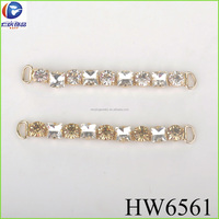 The gold crystal chain elegant party decorations