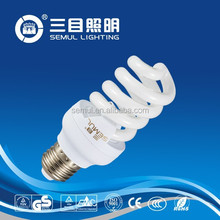 Cheap Price Full Spiral Energy Saving Lamp/Light E27/E14/B22 8000hrs CFL Bulbs with CE&ROHS