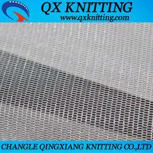 White Transparent 100% Nylon Tulle Fabric