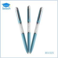 2 in 1 Customized crystal ball pen Multicolor Stylus Crystal Pen