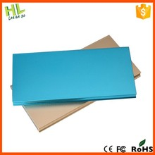Ultra thin metal super capacity 10000mah power bank for oppo find