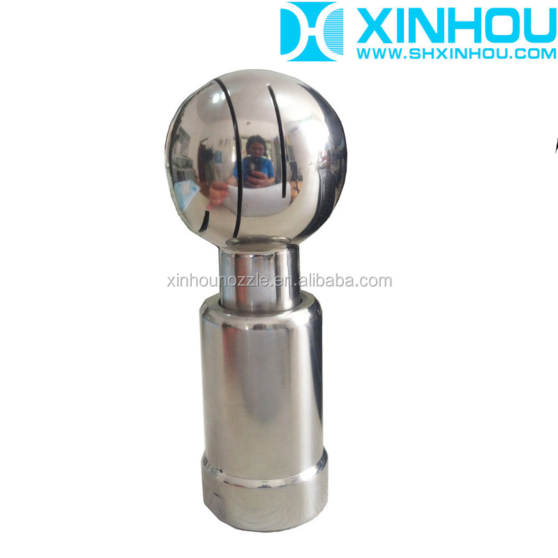 Stainless steel rotating with high speed spray tank