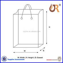 Accept Custom Order custom shopping bag paper