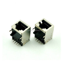 PCB JACK RJ45 connector 8P8C PCB CONNECTOR