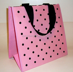 non-woven grocery ladies laminated shopping convention tote bag